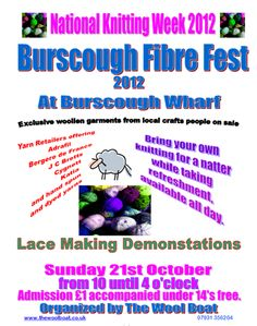 Colin and Caroles Creations - Burscough Fibre Festival 2012