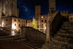 Christmas in Tower Chigi in San Gimignano San Gimignano Towers
