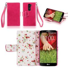 IZENGATE Elegant Floral Skin Premium PU Leather Wallet Flip Case Cover Folio Stand for LG G2 (Sprint & T-Mobile Only) (Deep Rose Pink) IZENGATE http://www.amazon.com/dp/B00GGC56F0/ref=cm_sw_r_pi_dp_kn91tb0WZR7EV1QP
