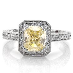 Design 2187 - Knox Jewelers - Minneapolis Minnesota - Fancy Color Diamond Rings - Large Image