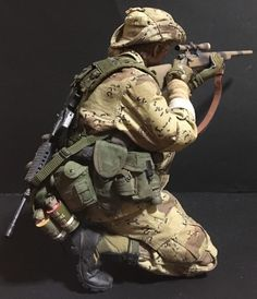 Military Action Figures, Military Special Forces, Tac Gear, Green Beret, Military Modelling, Military Diorama, Military Gear, Figure Model, Modern Warfare