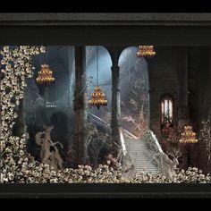 Christmas Window Displays 2014 at Galeries Lafayette Haussmann ...