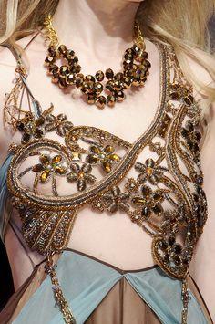 Seduzioni Diamonds Valeria Marini S/S Avante Garde Fashion Couture