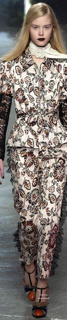Rodarte Collection fall 2016 Ready-to-Wear