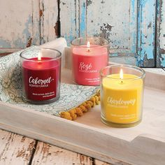 Wine Candles, Black Candles, Best Candles, Scented Candles, Candle Jars, Wine Collection, Burning Candle, Glass Jars, Fragrances