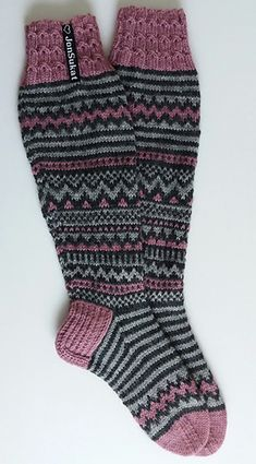 Ravelry: SikSakkia JonSukat pattern by Jonna Maria Nordström Wool Socks, Knitting Socks, Mittens, Ravelry, Crochet, Pattern, Crafts, Fashion, Crochet Hooks