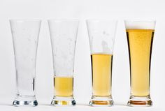 Happy hours just got happier with a crystal clear glass that showcases the color and clarity of any beer.