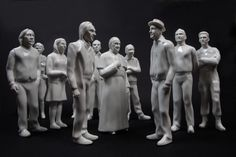 V hlavných úlohách - Kristína Kollárovicsová Custom collection of porcelain figures