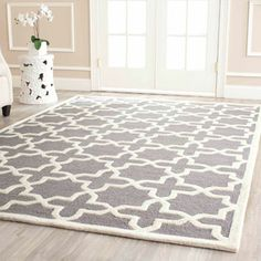 Safavieh Cambridge Hand Tufted Wool Area Rug- Wal-Mart rug for the living room (but in light blue)