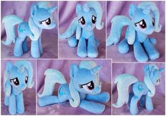 The Great and Apologetic Trixie Beanie Plush by ButtercupBabyPPG.deviantart.com on @DeviantArt