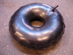 Inflated steel doughnut