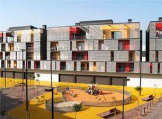 Como parte da seçãoObras Construídas, publicamos o projeto do Conjunto Habitacional construído em Barcelona e que resultou de concurso vencido pelo escritório catalão ONL Arquitectura–Joan…