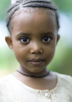 Portrait Of A Cute Little Girl, Addis Ababa, Ethiopia   Flickr - Photo Sharing!