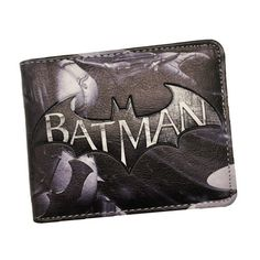 ce6d9aaf0fe DC Comics The Batman Wallet Animated Cartoon Purse for Young People  Students Gift Card Holder Wallets
