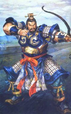 Xiahou Yuan Illustration