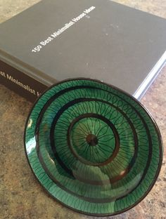 Spiral Ceramic Dish / Scandinavian dish / Small trinket dish by ModernaireMCMStudios on Etsy