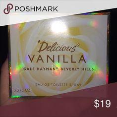 Gale Hayman Delicious Vanilla Perfume Brand new never opened Jewelry