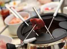 Molhos para fondue de carne