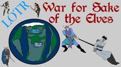 LOTR: War for Sake of the Elves (Battle of Powers - Focus Series)