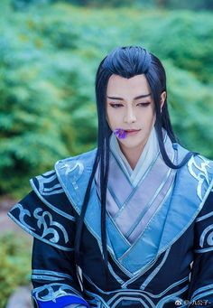 Fantasy Romance, Fantasy Art, Pen & Paper, Chinese Man, Ancient China, Christen, Hanfu, Attractive Men, Looks Cool