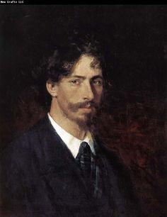 Ilia Efimovich Repin - Self-portrait, 1878. Impression artist Russian, 1844? C 1930