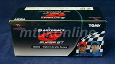 TOMICA TL 59 TOYOTA ESSO ULTRFLO SUPRA #6   75mm   SUPER GT 2005 GT500 CLASS
