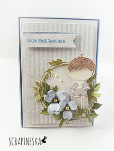 Card Tutorials, First Communion, Baby Cards, Type 3, Advent Calendar, Diy And Crafts, Scrapbooking, Angel, Facebook