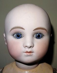 ANTIQUE BEBE STEINER SERIE C CLOSED MOUTH SIZE 4 21,65 INCHES DAMAGED