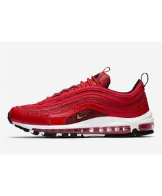 quality design ddd84 b243d Men s Nike Air Max 97 CR7 University Red Sport Shoes Best Sale