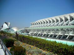 Santiago Calatrava - Prince Felipe Science Museum - Valencia, Spain, 2000