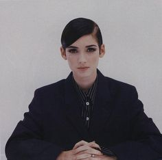"dontgoforsecondbest: ""Winona Ryder photographed by Wayne Maser, Vogue November 1992 """