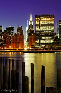 Photographing New York City: View of Manhattan from Long Island City, NY