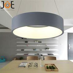 Modernos pendente luzes de led círculo suspensão para sala de jantar pingente lâmpadas decoração luminárias 9163 em Luzes de pingente de Luzes & Iluminação no AliExpress.com | Alibaba Group