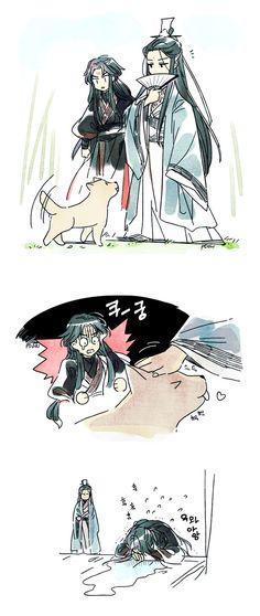 Anime Chibi, Anime Art, Great Novels, Manga Cute, Getting A Puppy, Classic Literature, Light Novel, The Villain, Chinese Art
