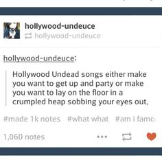 That tag name should be Hollywood Undanny not Hollywood Undeuce. Or better yet, Hollywood Undakurlzz. :D