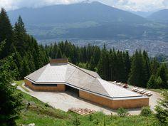 best architects architektur award // Ludescher + Lutz / Ludescher + Lutz / Umbrüggler Alm - Ausflugsrestaurant oberhalb von Innsbruck / Sonstige Bauten