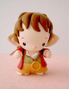 "Mijbil Creatures: Bilbo Baggins - vinyl Micro Munny from ""The Hobbit"""