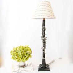 haha clarinet lamp