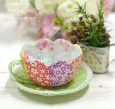 Patchwork-Tea-Cup-and-Saucer