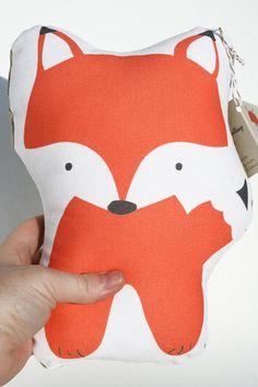 Fernando Fox stuffed animal softie eco friendly baby children baby nursery home decor gift. $20,00, via Etsy.