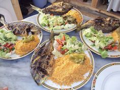 Tunisia ♥ Tunisian food (couscous) #kosksi #hout_mechwi Tunisian Food, Couscous, Cobb Salad, Ethnic Recipes, Travel, Beautiful, Cooking Recipes, Viajes, Destinations