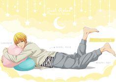 kuroko no basket official arts Cute Anime Boy, I Love Anime, All Anime, Anime Guys, Anime Art, Kise Ryouta, Ryota Kise, Kuroko No Basket Characters, Akakuro