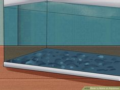 How to Make an Aquarium (with Pictures) - wikiHow Aquarium Diy, Turtle Aquarium, Aquarium Fish Tank, Aquariums, Best Aquarium Filter, Best Sheets, Large Containers, Garden Terrarium, Cost Saving