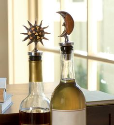 Sun And Moon Wine Stoppers
