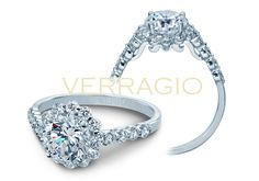 INSIGNIA-7033 engagement ring from The Insignia Collection of diamond engagement rings by Verragio