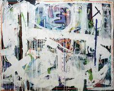 "Saatchi Art Artist Uku Chan; Painting, ""untitled in white"" #art"
