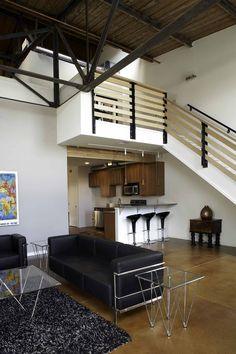 loft living mezzzanine