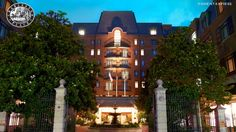 Charleston Place Hotel. Charleston SC. Such a sweet southern city. Luv the historic surroundings and the hotel was very nice! One of the best cities for food and history! :) --Melly Mel  #travel #hotels #southern