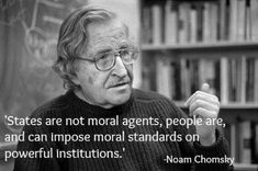 Noam #Chomsky Quotes: moral agents