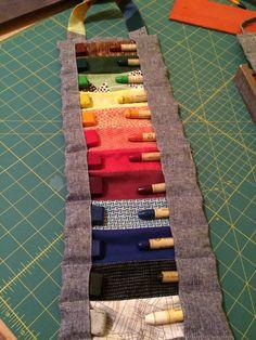 12-Waldorf Crayon pouch by HandmadebyAnnaZ on Etsy